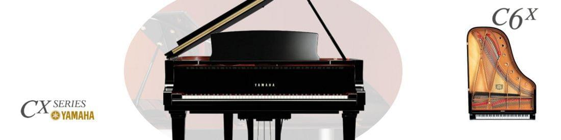 [:es]Imagen piano de cola YAMAHA CX Series. Modelo C6X