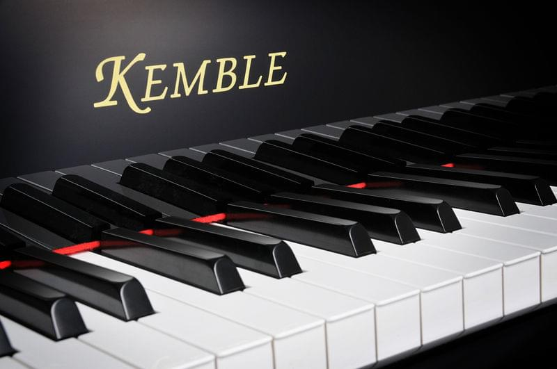 Imatge detall teclat piano de cua KEMBLE