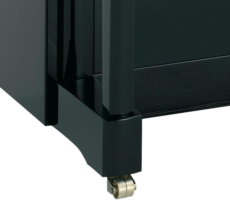 Detall roda piano KEMBLE col·lecció Professional model Conservatori