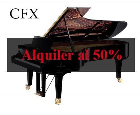 Imagen de la oferta de descuento en el alquiler de pianos