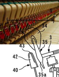 Detall peces piano