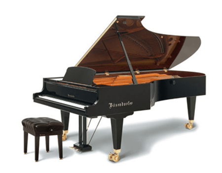 Imagen  piano de cola BÖSENDORFER. Modelo 290