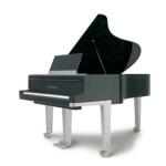 Imatge d'un piano de cua BÖSENDORFER. Edició especial de disseny Porsche