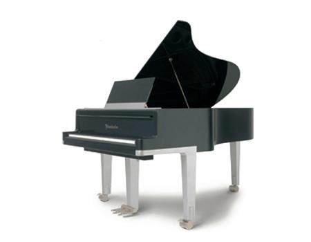 Imagen de un piano de diseño Bösendorfer