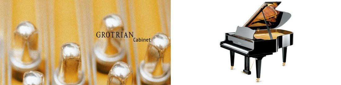 Imagen piano de cola GROTRIAN modelo Cabinet