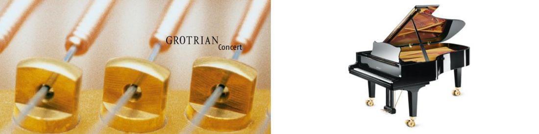 Imagen piano de cola GROTRIAN modelo Concert