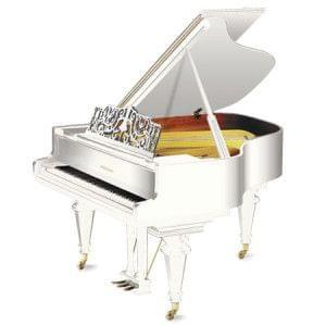 Imagen piano de cola GROTRIAN modelo especial 165 cámara blanco