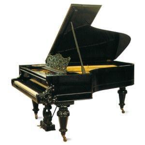 Imagen piano de cola GROTRIAN modelo especial Clara Schumann