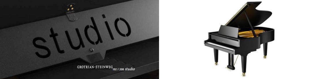 Imagen piano de cola GROTRIAN modelo Studio
