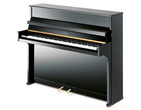 Imagen piano vertical GROTRIAN. Modelo Canto G