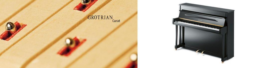 Imagen piano vertical GROTRIAN modelo Carat