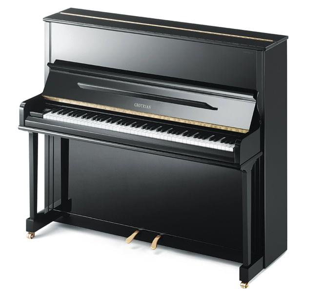 Imagen piano vertical GROTRIAN modelo Classic