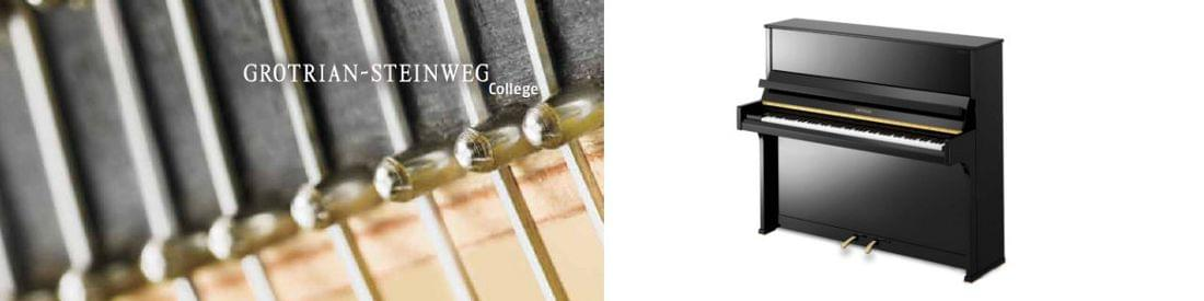 Imagen piano vertical GROTRIAN modelo College