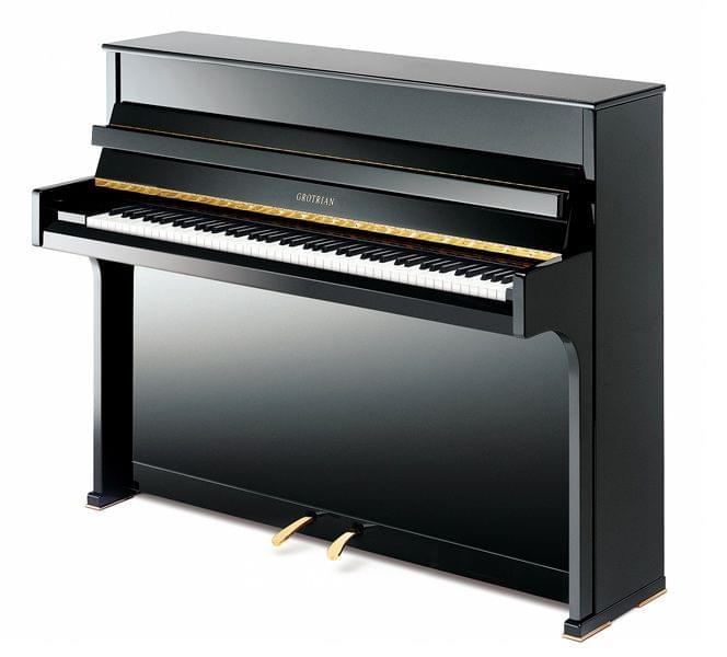 Imagen piano vertical GROTRIAN modelo Cristal