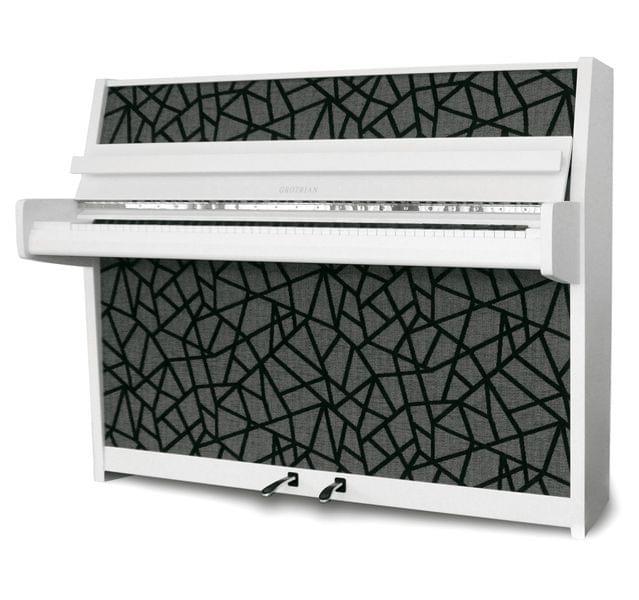 Imagen piano vertical GROTRIAN modelo Samba edición limitada