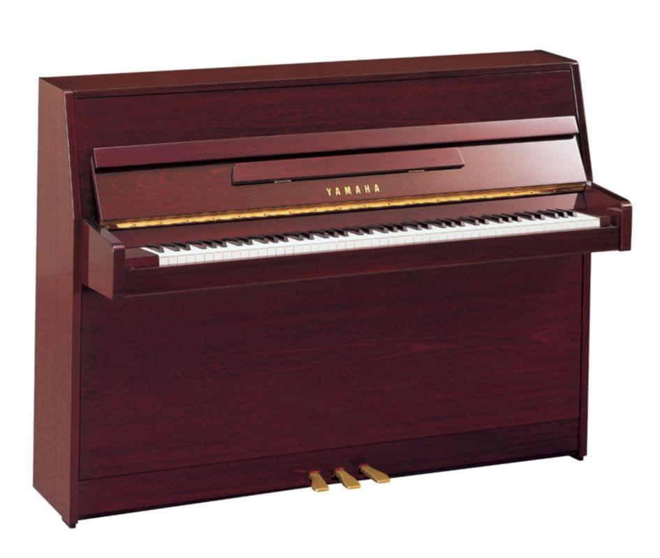 Imagen piano vertical YAMAHA. B Series modelo B1 color caoba pulido