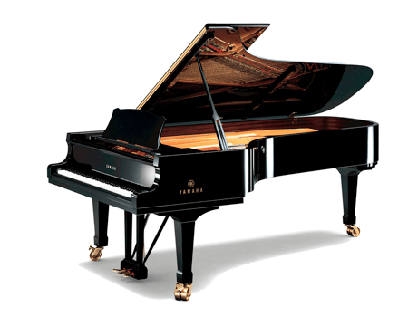 Imagen  piano de cola YAMAHA. Modelo artesanal CFIIIS