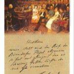 Cartel promocional piano modelo especial Franz Liszt de BÖSENDORFER
