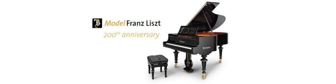 Imagen piano de cola BÖSENDORFER edición limitada aniversario Franz Liszt