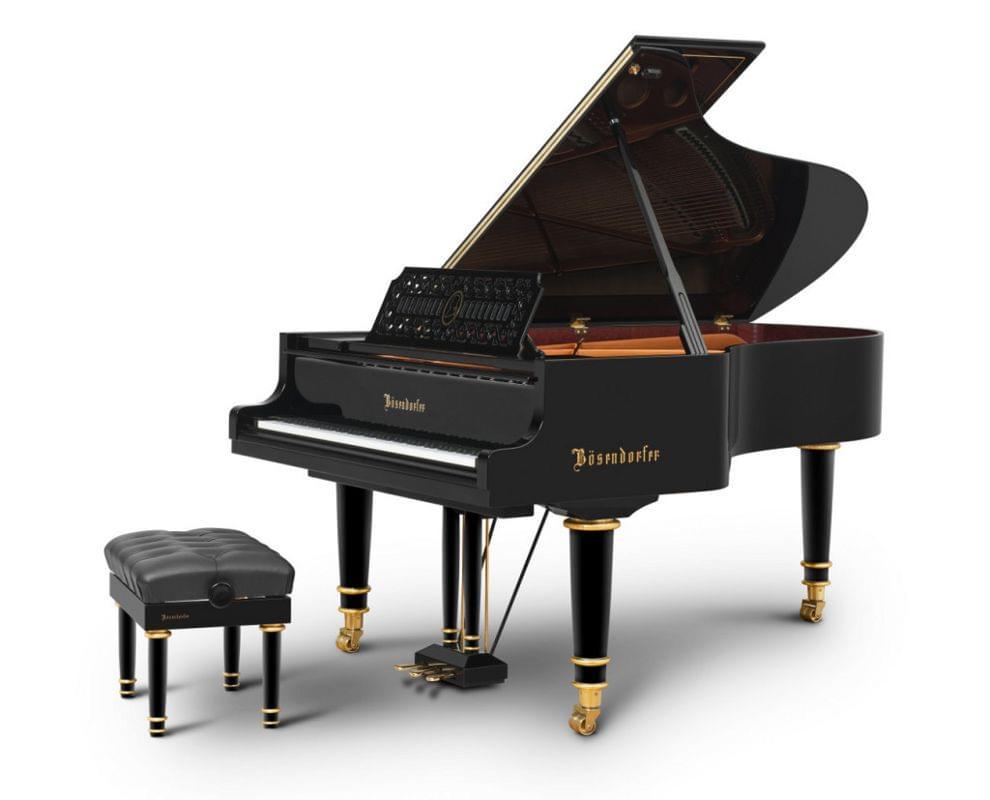 Imagen piano de cola BÖSENDORFER edición limitada Mozart con banqueta