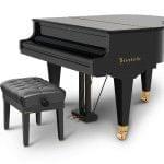 Imagen piano de cola BÖSENDORFER modelo 155 cerrado