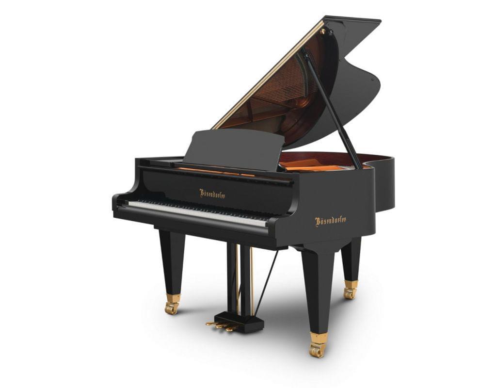 Imagen piano de cola BÖSENDORFER modelo estándar 170 color negro