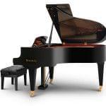 Imagen piano de cola BÖSENDORFER modelo 170 vista lateral