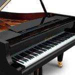 Imagen piano de cola BÖSENDORFER modelo 185 vista teclado