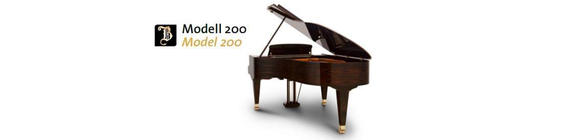Imagen piano de cola BÖSENDORFER modelo 200