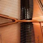 Imagen piano de cola BÖSENDORFER modelo 200 detalle interior