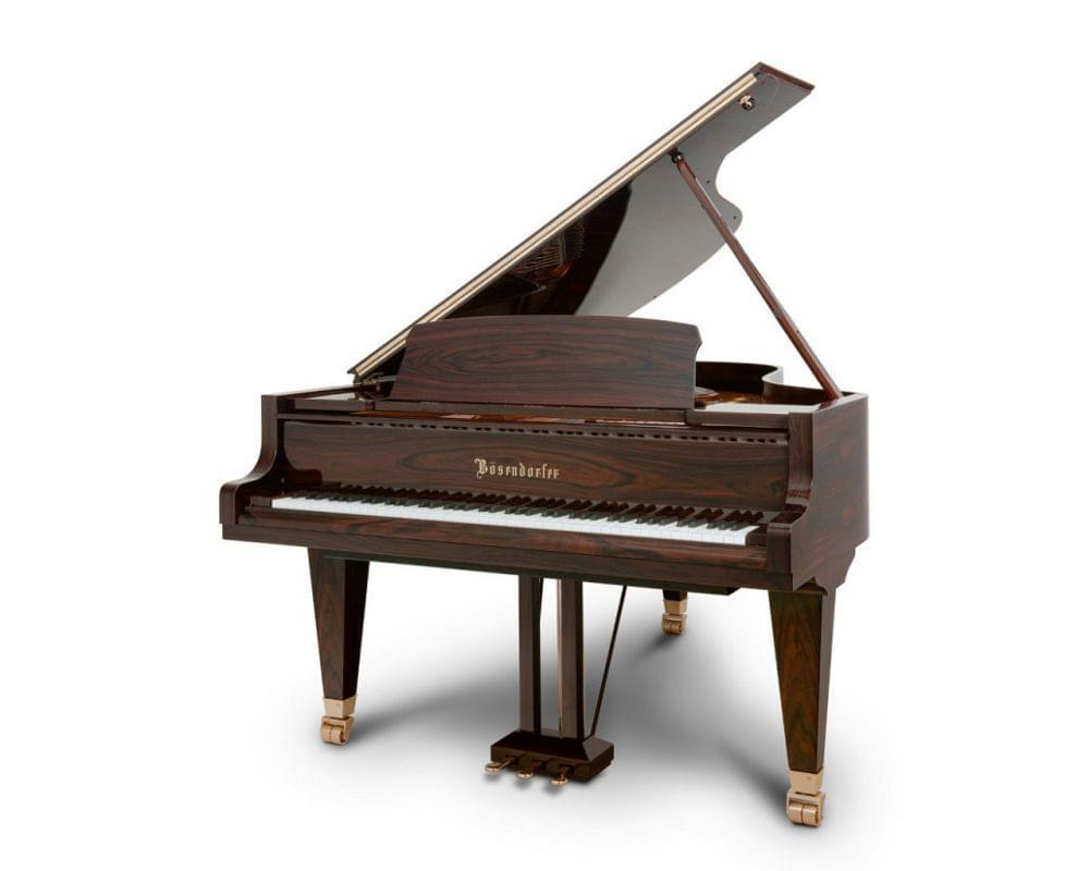 Imagen piano de cola BÖSENDORFER modelo estándar 200 color nogal