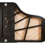 Imagen piano de cola BÖSENDORFER modelo 200 vista inferior