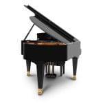 Imagen piano de cola BÖSENDORFER modelo 200 vista posterior