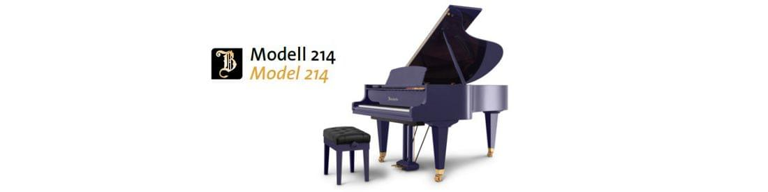 Imagen piano de cola BÖSENDORFER modelo 214