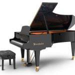 Imagen piano de cola BÖSENDORFER modelo 225 vista lateral
