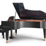 Imagen piano de cola BÖSENDORFER modelo 225 vista lateral posterior
