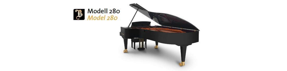 Imagen piano de cola BÖSENDORFER modelo 280