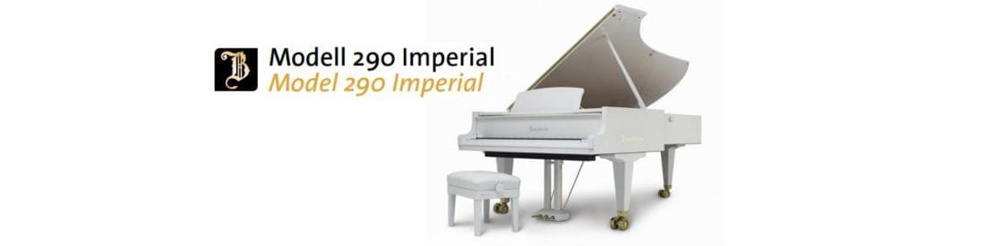 Imagen piano de cola BÖSENDORFER modelo 290 Imperial blanco