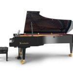 Imagen piano de cola BÖSENDORFER modelo 290 Imperial con banqueta vista lateral