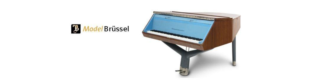Imagen piano de cola BÖSENDORFER modelo de diseño Brüssel