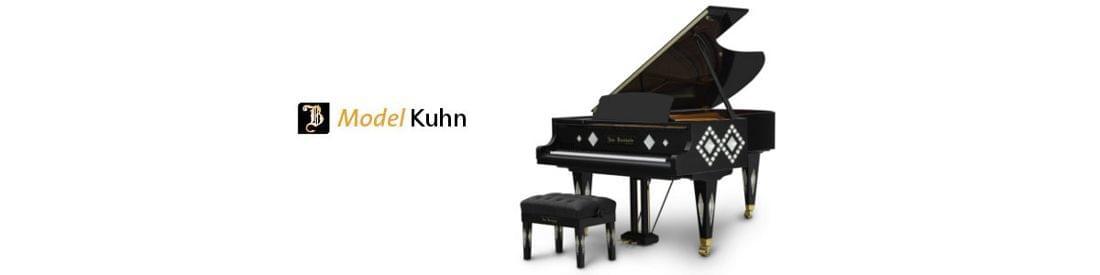 Imagen piano de cola BÖSENDORFER modelo de diseño Kuhn