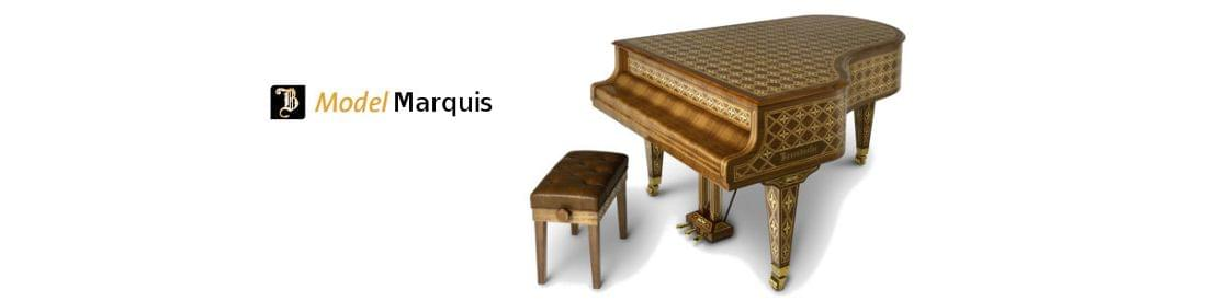 Imagen piano de cola BÖSENDORFER modelo de diseño Marquis