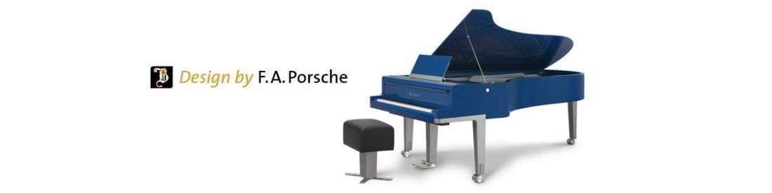 Imagen piano de cola BÖSENDORFER modelo de diseño F.A. Porsche