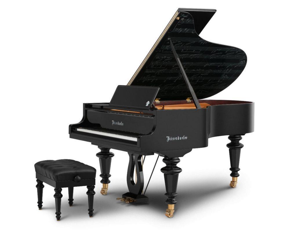 Imagen piano de cola BÖSENDORFER modelo especial Beethoven con banqueta
