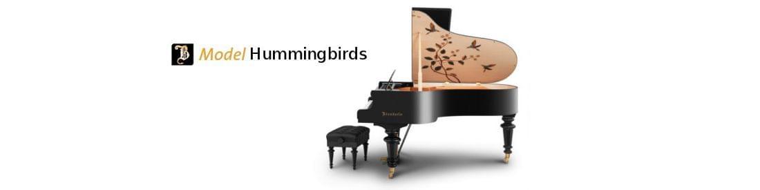 Imagen piano de cola BÖSENDORFER modelo especial Hummingbirds