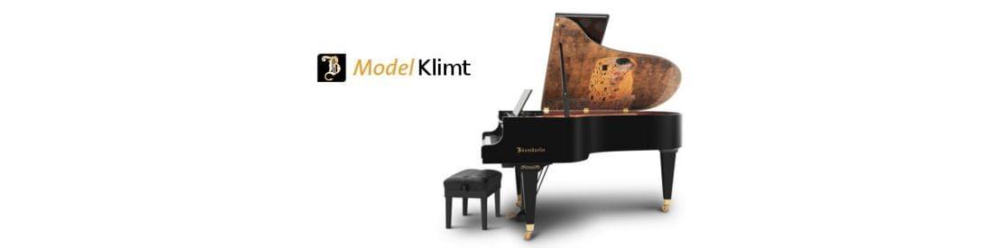 Imagen piano de cola BÖSENDORFER modelo especial Klimt