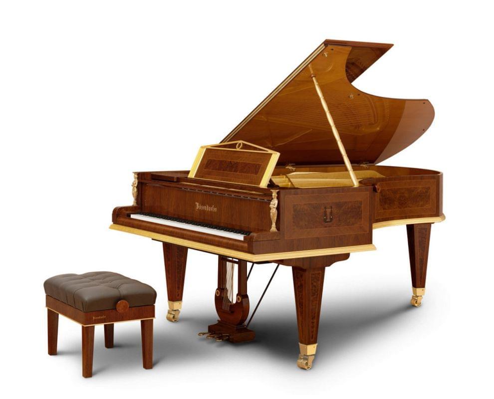 Imagen piano de cola BÖSENDORFER modelo especial Opus 50000 con banqueta