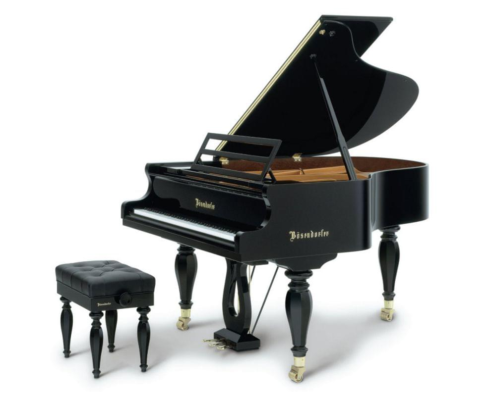 Imagen piano de cola BÖSENDORFER modelo especial Schubert con banqueta