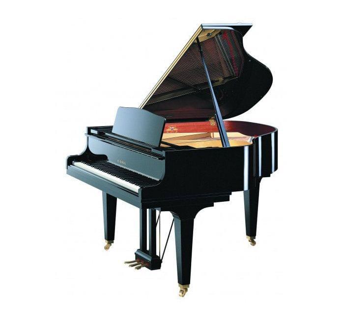 Imagen piano de cola KAWAI GE Series modelo GE-30 acabado negro pulido