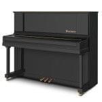 Imagen piano vertical BÖSENDORFER modelo 120 CL teclado cerrado